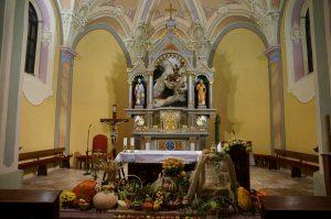Dožinková výzdoba kostola
